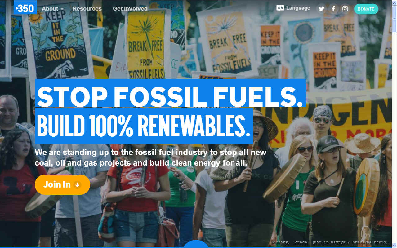 Stop burning fossil fuels use renewable energy instead