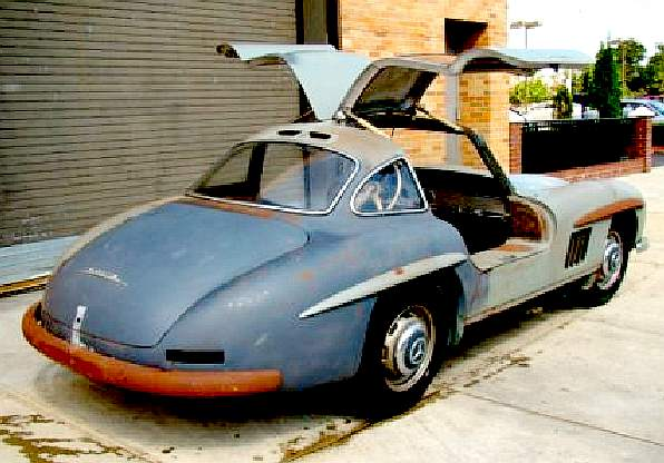 mercedes benz 300 sl gull wing doors coupe restoration projects. Black Bedroom Furniture Sets. Home Design Ideas