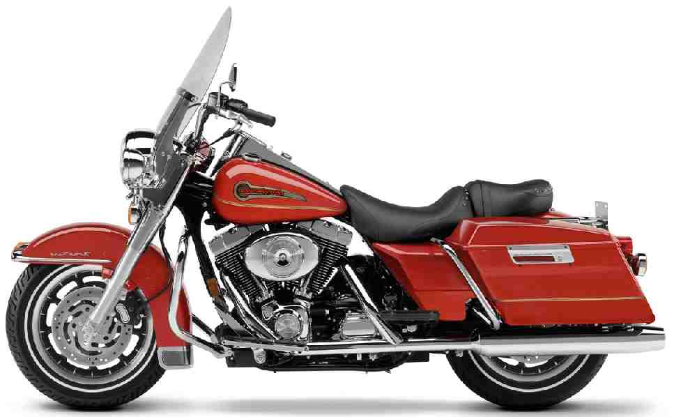 Harley Davidson Fire Fighter Special Edition on Small V Twin Motorcycle Engines