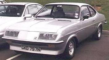 Vauxhall Firenza 2.3 petrol engined car GM