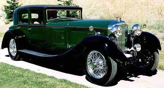 bentley drophead coupe 1930