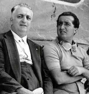 Enzo and Dino Ferrari