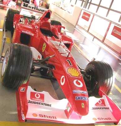 Ferrari formula one 400s