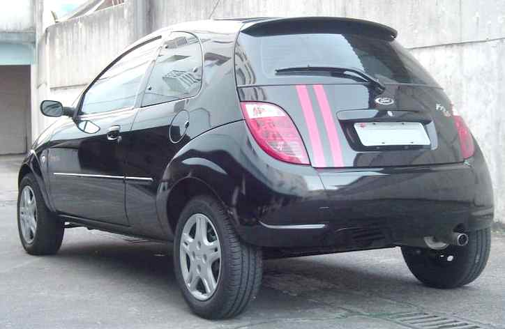 Ford Ka With Alloy Wheels And Stripe Paitwork