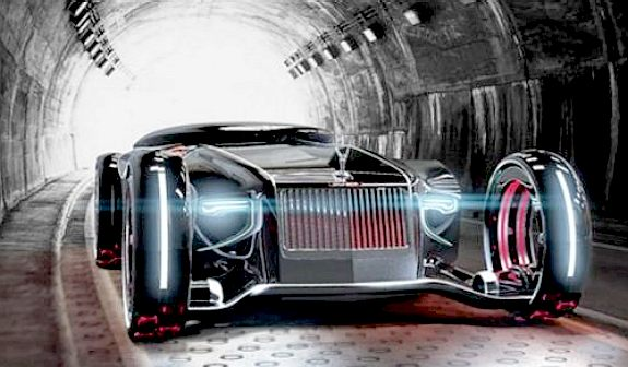 Concept Rolls Royce Automobil Bildidee