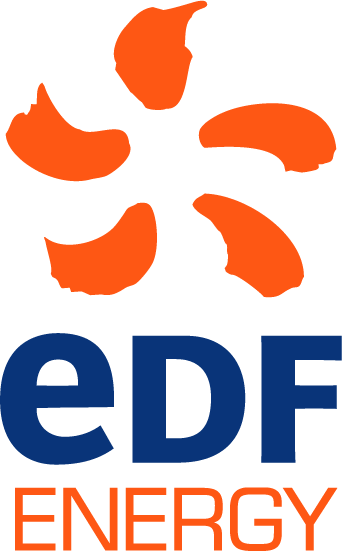 EDF Energy, orange sun Logo