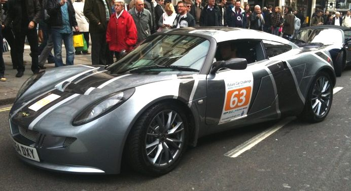 Nemesis, converted electric Lotus, by Ecotricity and Vince Dale