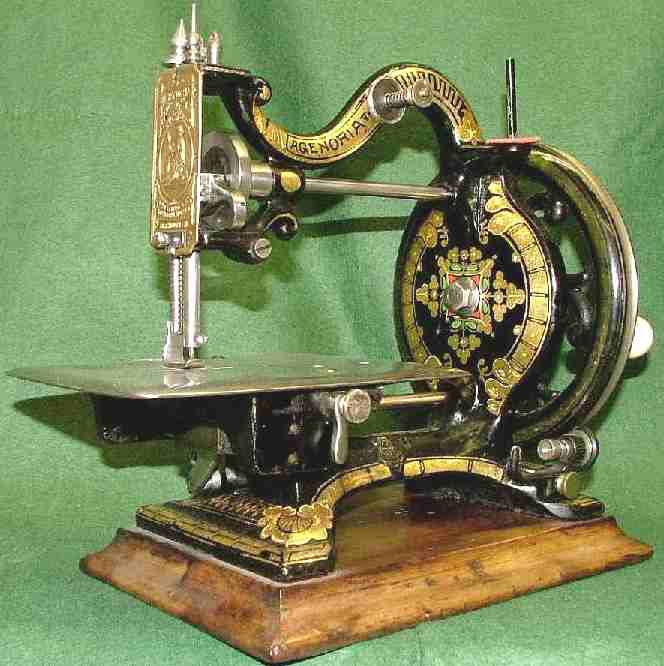 Maxfiled Agenoria sewing machine Alex Askaroff