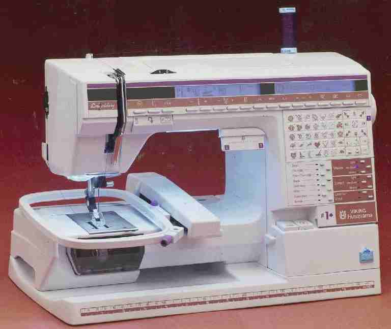 Husqvarna Viking electronic sewing machine
