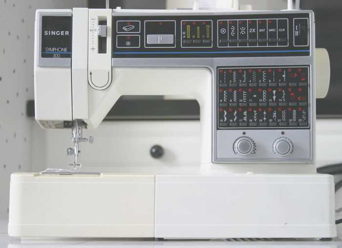 Singer symphone 300 sewing machine