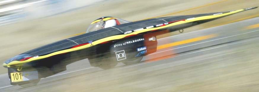 AURORA VEHICLE ASSOCIATION SOLAR CAR RACING TEAM AUSTRALIA