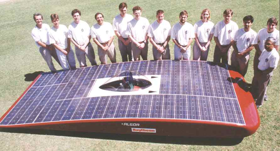 Arizona University Solar Car Racing Team Usa