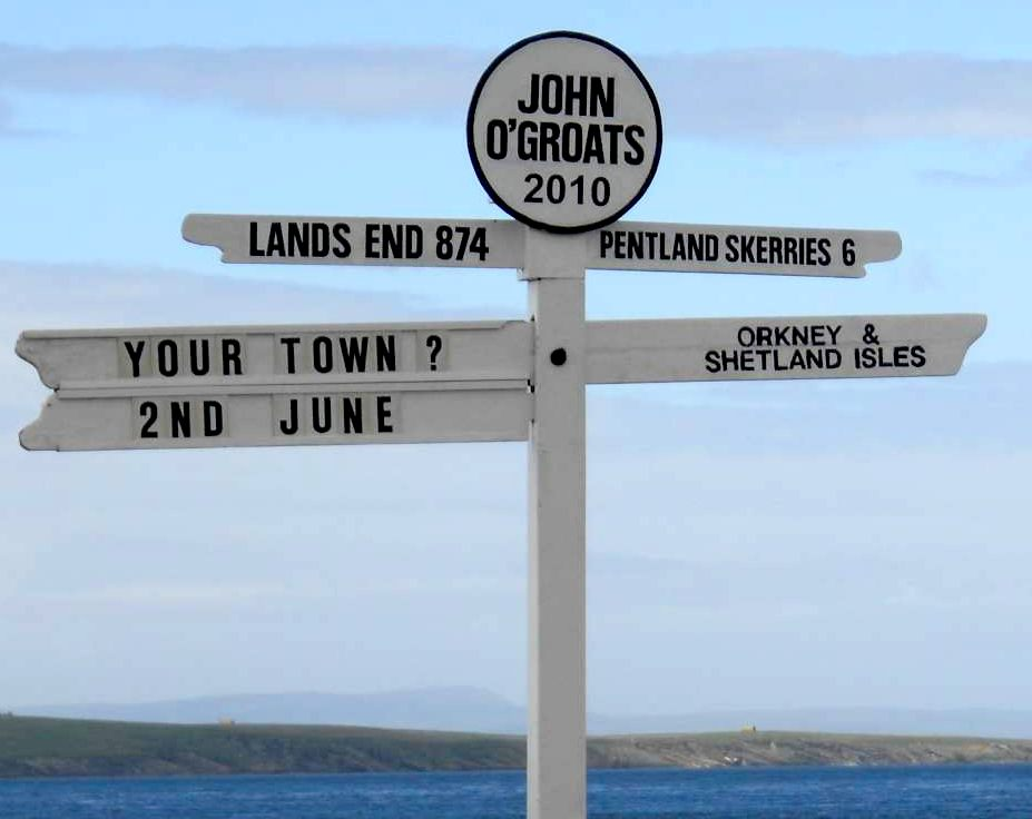 Distance between penzance and lands end