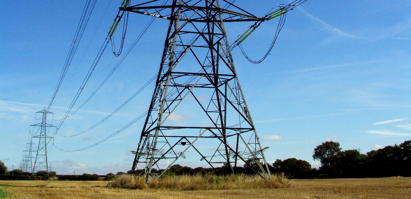 The National Grid supplies homes and busineses in the UK with electricity