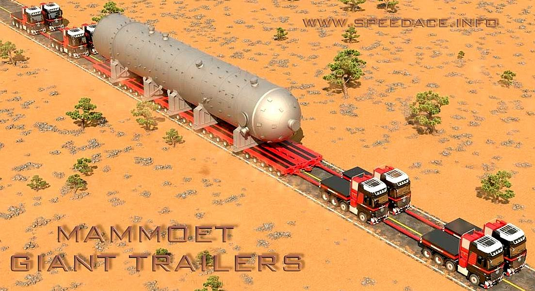 World S Smallest Tractor : Trailers world records biggest fastest road transport
