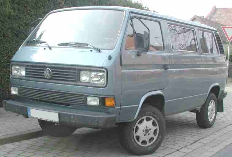 Vw T T Caravelle Synchro on New Engine Compartment