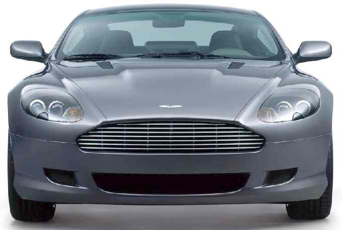 Aston Martin DB9 front view