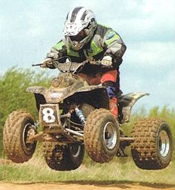 Quad bike flying
