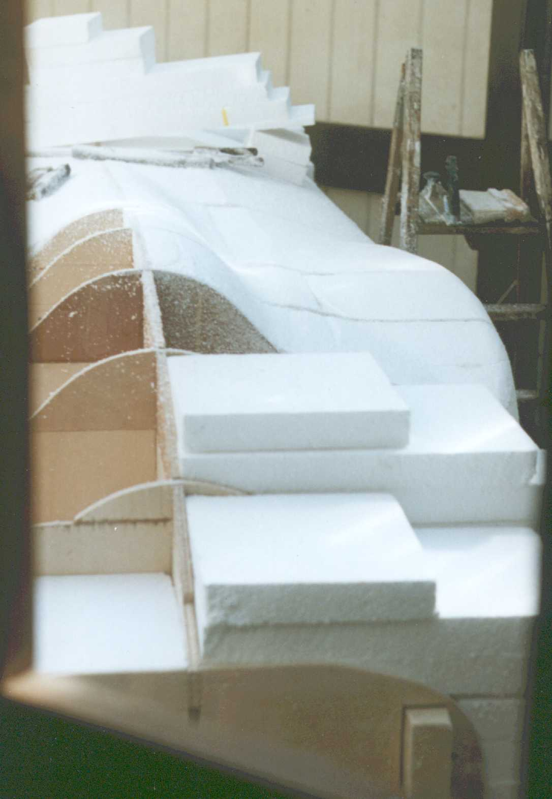 Mould Making Composites Grp Glass Reinforced Plastic