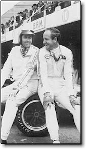 Jack Brabham and Denny Hulme