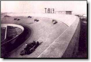 Fiat's Lingotto factory test track