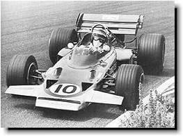 Rindt driving Lotus 72