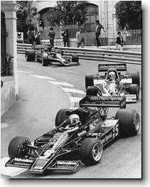 Andretti in JPS Lotus at Monaco - 1978