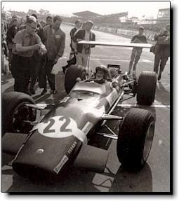 Jo Siffert claims victory at Brands Hatch 1968