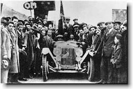 OM of Brescia the winner of the first Mille Miglia