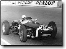 Moss driving Lotus 18 to Monaco GP 1961 victory.