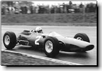 Surtees driving Ferrari Type 158 - 1964