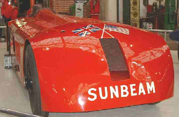 Sunbeam of Sir Henry Segrave