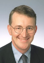 Hilary Benn portrait MP transport secretary of state
