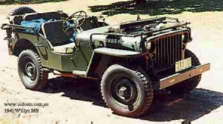 Willys Jeep Grand Cherokee Wrangler Chrysler