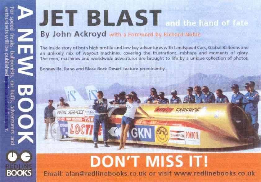 Jet Blast and the Hand of Fate a book by John Ackroyd