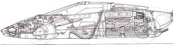 how to draw a lamborghini side view