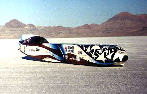 Lightning Rod, world electric land speed record car, Ed Rannberg