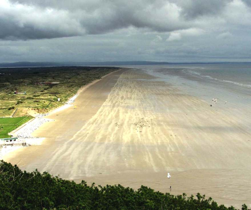 Pendine sands, Carmarthen, South Wales, United Kingdom