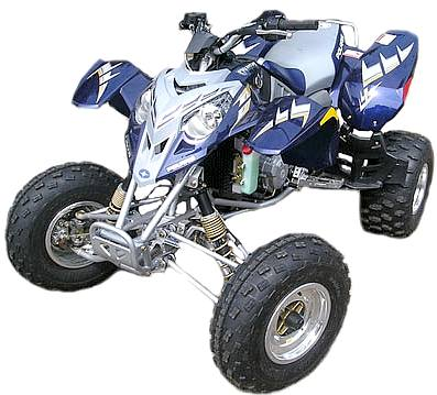 Quad bike polaris predator special ATV