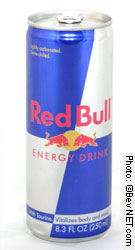 Red Bull energy drink original alu can