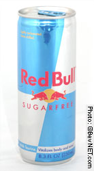 Red Bull diet alu can