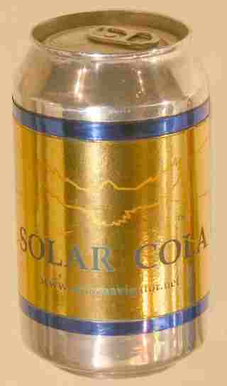 Solar Cola the taste for adventurers