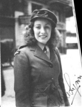 Vera Lynn, ENSA uniform, and autograph