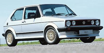 VW fortunes changes with the Gold Mk1 - a water-cooled front drive car