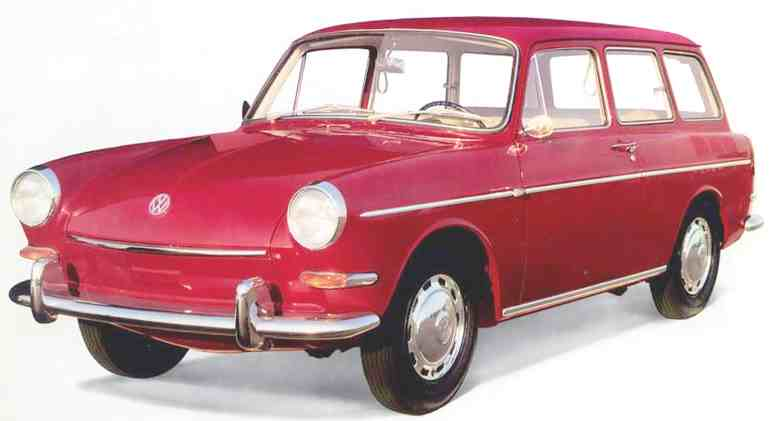 VW Variant aircooled estate 1500 (1961)