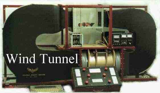 Nelson, Mk II wind tunnel, electronic strain gauges, closed loop